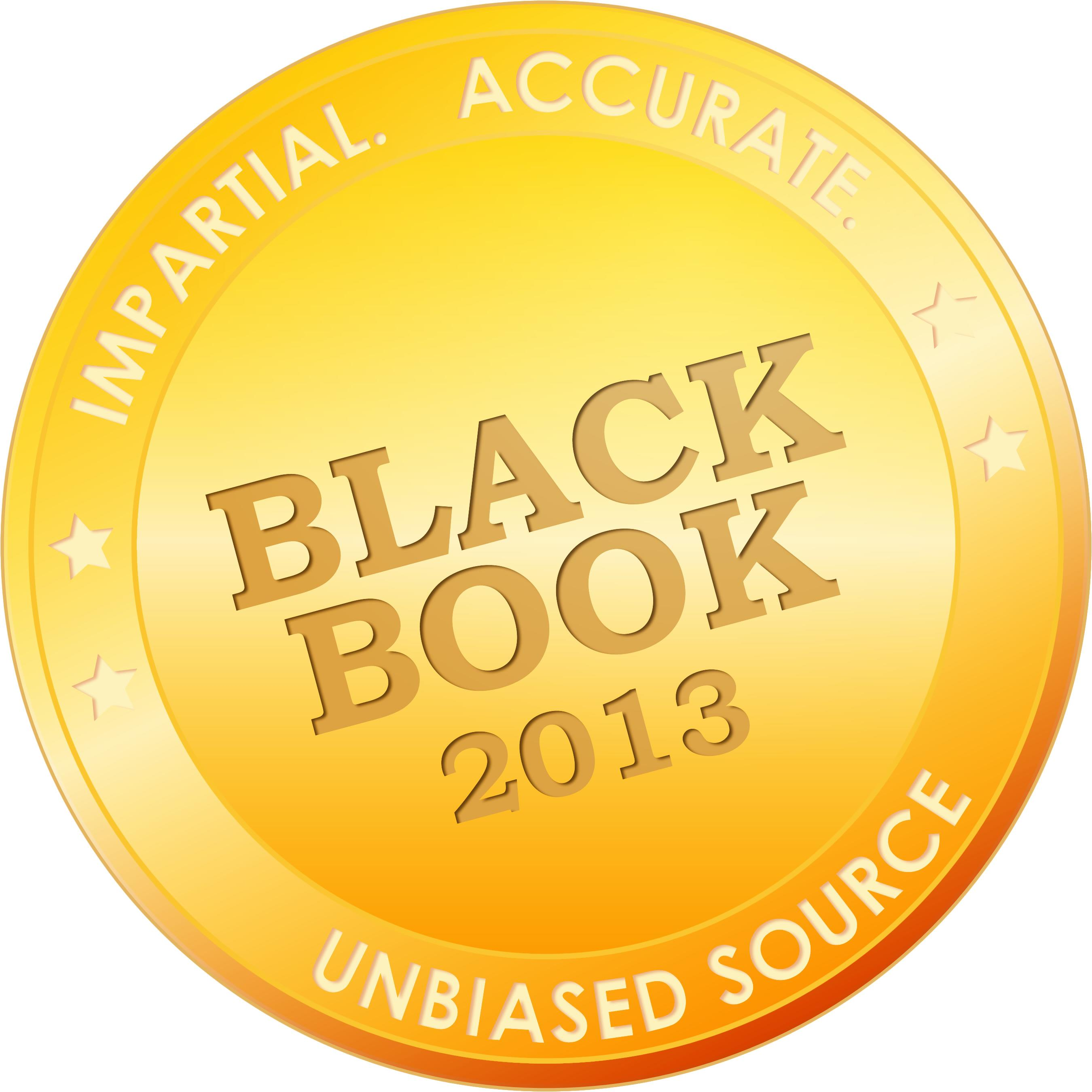 2013 Black Book Rankings Low resolution Seal
