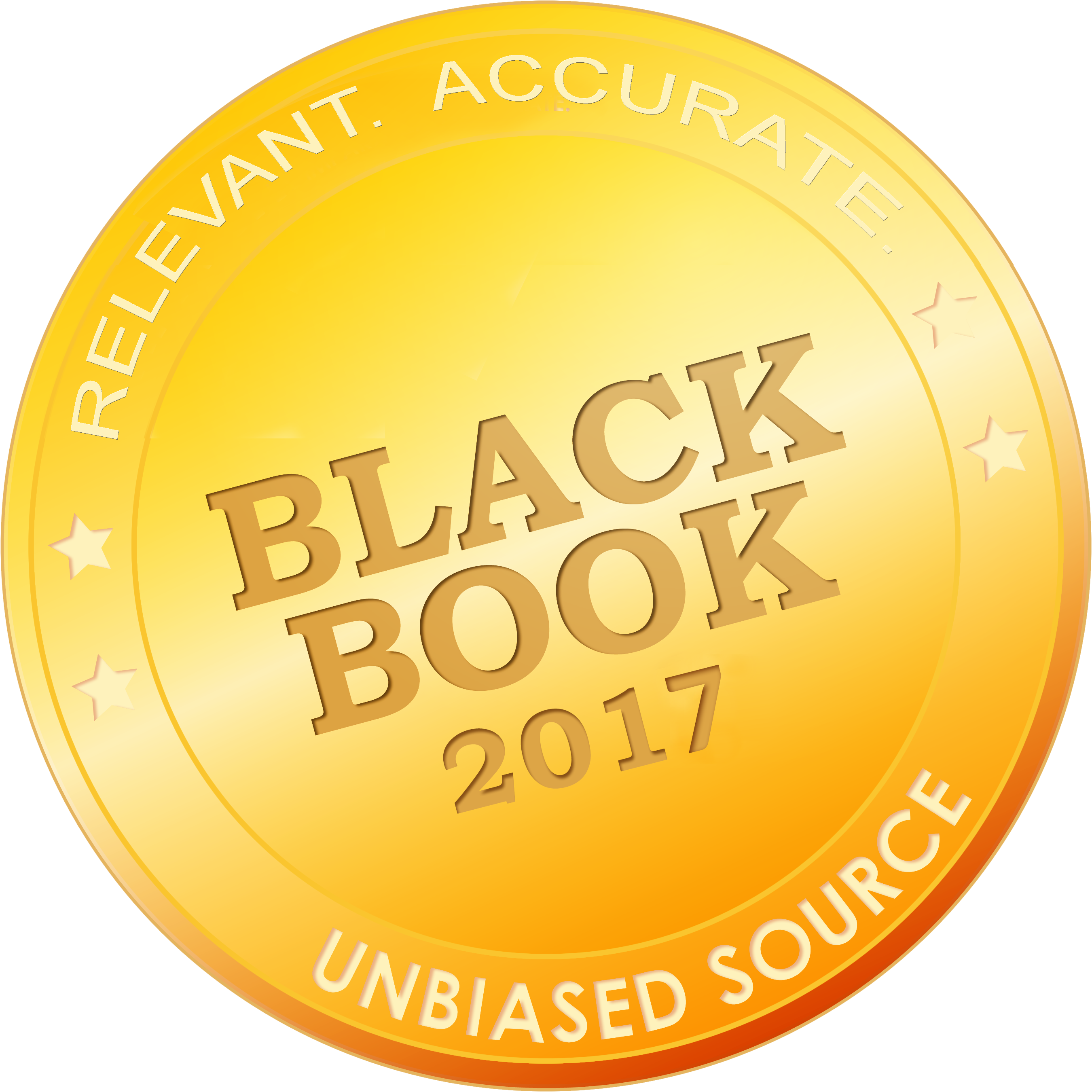 2017 Black Book Rankings High resolution Seal